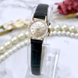 ROLEX ロレックス OH済 プレシジョン K18金無垢 ベルト2色付 腕時計