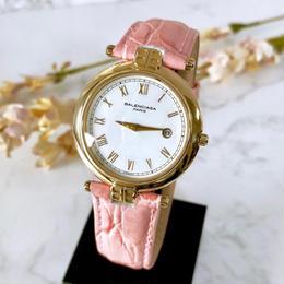 BALENCIAGA バレンシアガ デイト ベルト2色付 ゴールド   腕時計