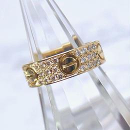 Cartier/ラブリング YG 10号
