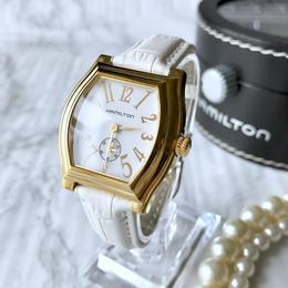 HAMILTON ハミルトン スクエアフェイス クォーツ 腕時計