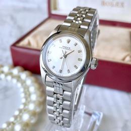 ROLEX ロレックス オイスターパーペチュアル 自動巻 レディース 腕時計