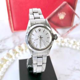 ROLEX ロレックス オイスター パーペチュアル 自動巻 レディース 腕時計