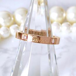 Cartier カルティエ ラニエール ダイヤモンド 2P 8号 リング