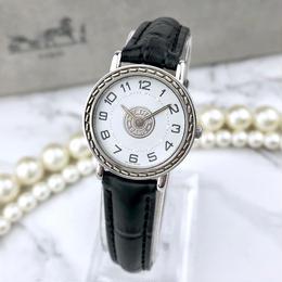 HERMES  エルメス セリエ ベルト2色付 シルバー  腕時計