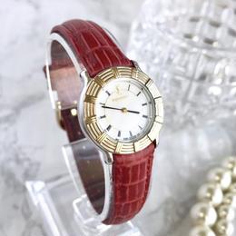 YSL イヴサンローラン コンビ レザーベルト 腕時計
