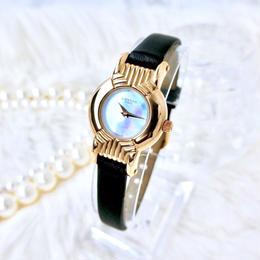 LANVIN  ランバン シェル文字盤 クォーツ レディース 腕時計