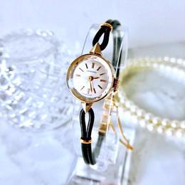 LONGINES ロンジン カットガラス  カクテルウォッチ ゴールド 手巻き レディース 腕時計