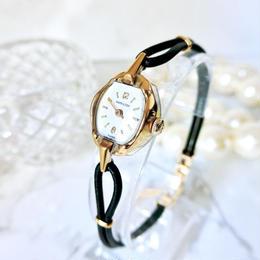 HAMILTON ハミルトン K18YG  GP カクテルウォッチ 手巻き レディース 腕時計