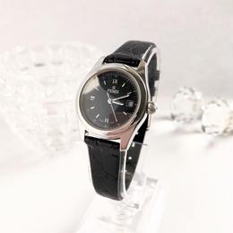 FENDI フェンディ デイト機能付  文字盤ブラック 腕時計