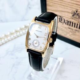 HAMILTON ハミルトン OH済み ベルト2色付き アードモア スクエア クォーツ レディース 腕時計