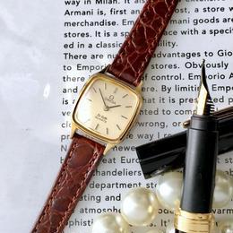 OMEGA オメガ  OH済 デビル ベルト2色 クォーツレディース 腕時計