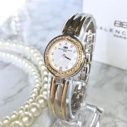 BALENCIAGA バレンシアガ 全純正 コンビ ホワイト文字盤 クォーツ レディース 腕時計