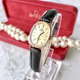OMEGA  オメガ デビル K18YGGP 手巻き レディース 腕時計
