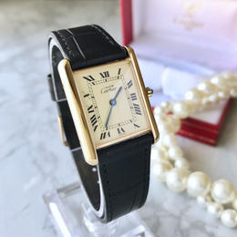 Cartier カルティエ タンク ベルト2色付き クォーツ レディース 腕時計