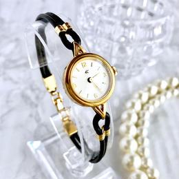 4℃ ヨンドシー K22YGGP ゴールド クォーツ レディース 腕時計