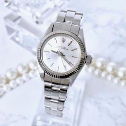 ROLEX  ロレックス 6719  OH済 ベルト2種付 オイスター パーペチュアル 腕時計