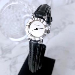 Tiffany ティファニー アトラス OH済  ベルト2色付き 腕時計