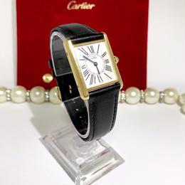 Cartier カルティエ オパラン タンク 腕時計