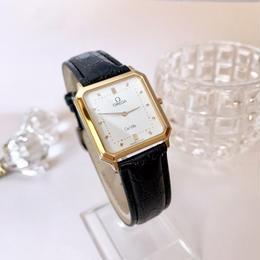 OMEGA オメガ デビル 文字盤ホワイト 腕時計