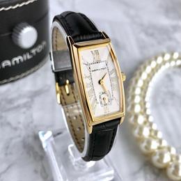 HAMILTON ハミルトン ベルト2色付き クォーツ レディース 腕時計