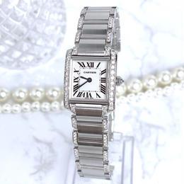 Cartier / タンクフランセーズ SM ダイヤモンド97P