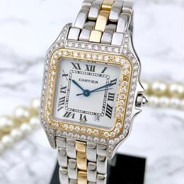 Cartier/パンテールMM ダイヤモンド106P