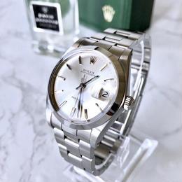 ROLEX ロレックス オイスターデイト プレシジョン OH済み メンズ 手巻き 腕時計