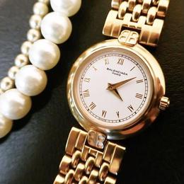BALENCIAGAバレンシアガ フルゴールド 腕時計