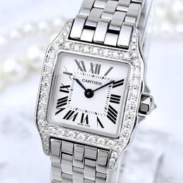 Cartier/サントスドゥモワゼル ダイヤモンド49P