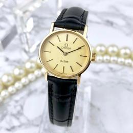 OMEGA オメガ デビル ベルト2色付き ゴールド 手巻き 腕時計