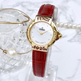 FENDI/ホワイトシェル文字盤