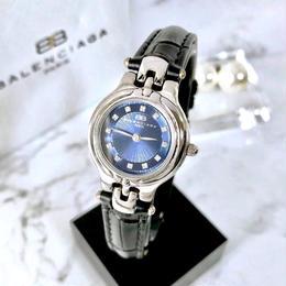 BALENCIAGA バレンシアガ ネイビー文字盤  クォーツ  レディース 腕時計