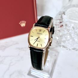 ROLEX ロレックス OH済 オーキッド 手巻き レディース 腕時計