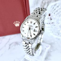 ROLEX ロレックス オイスター  K18WGベゼル 自動巻 レディース 腕時計