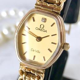 OMEGA オメガ 全純正 OH済 デビル ダイヤモンド 1P 腕時計