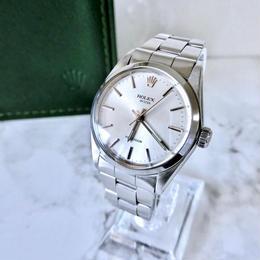 ROLEX ロレックス OH済 ベルト2種付き オイスター 手巻き メンズ レディース 腕時計