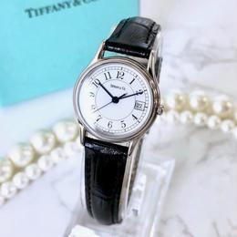Tiffany ティファニー クラシック ベルト2色付き シルバー 腕時計