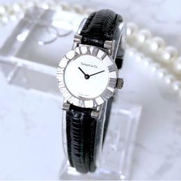 Tiffany OH済 ティファニー アトラス ベルト2色付 腕時計