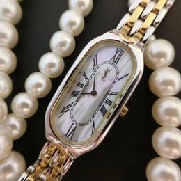 YSL イヴサンローラン 文字盤シェル  腕時計