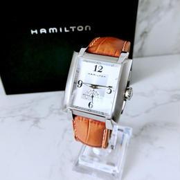 HAMILTON ハミルトン トレント 全純正 Dバックル  クォーツ メンズ  腕時計
