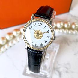 HERMES エルメス セリエ ベルト2色付き 腕時計