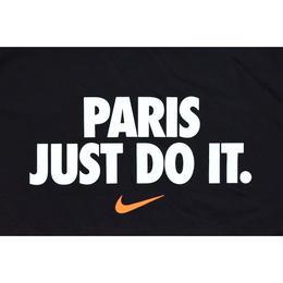 """NIKE """"PARIS JUST DO IT"""" TEE BLACK ナイキ Tシャツ パリ限定 ブラック"""