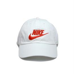 NIKE FUTURA LOGO 6PANEL CAP WHITE RED ナイキ キャップ