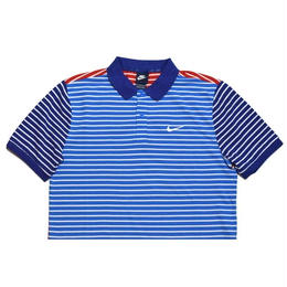 NIKE S/S BORDER POLO SHIRT BLUE RED WHITE  ナイキ ポロシャツ トリコロール