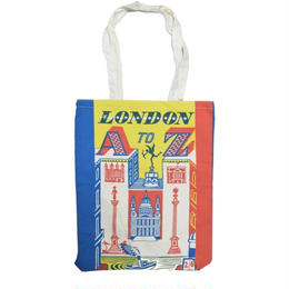 """V&A TOTE BAG """"LONDON A TO Z"""" ヴィクトリア&アルバート ミュージアム ロンドン トートバッグ"""