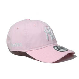 NEW ERA × MoMA 9TWENTY STRAP BACK CAP PINK  NY YANKEES ニューエラ ヤンキース キャップ ピンク