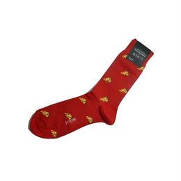 J.CREW PIZZA SOCKS RED ジェイクルー ソックス 靴下