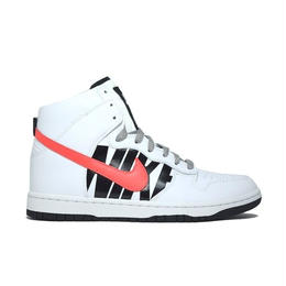 NIKE × UNDEFEATED DUNK LUX WHITE INFRA RED ナイキ アンディフィーテッド ダンク インフラレッド