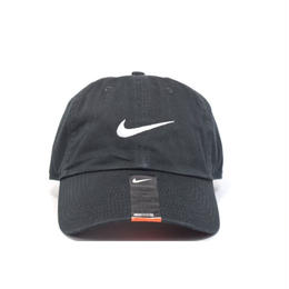 NIKE 6PANEL SWOOSH CAP BLACK ナイキ キャップ