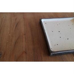 リバーシブル角盛皿 20×20 B-099